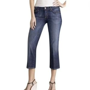 COH Kelly Stretch Low Waist Cropped Jeans Size 29